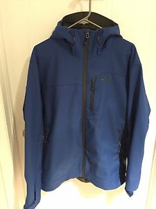 Outdoor research soft shell jacket