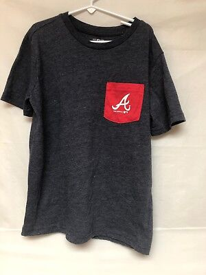 - Youth Genuine Merchandise By Team Althletics Old Navy Atlanta Braves Size L