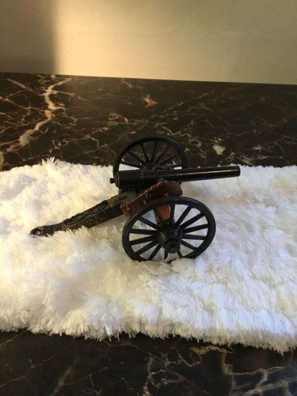 Vintage Miniature Cannon Model
