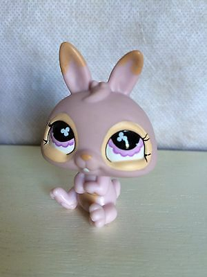 Littlest Pet Shop Easter Basket Bunny Rabbit Baby Dwarf #667 Pink Purple LPS for sale  Shipping to Canada