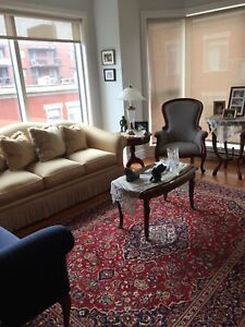 Fully furnished 4 1/2 condo for rent -Ville Saint-Laurent