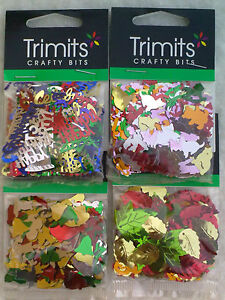 Trimits-Sequins-Happy-Birthday-Animals-Christmas-Auturm-Leaves-Lentejuelas