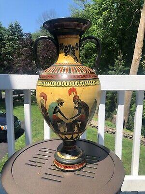 Ancient Greek Amphora Vase- British Museum Replica