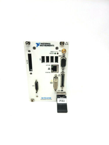 National Instruments NI PXI-8108 2.53 GHz Dual-Core Embedded Controller OS 7