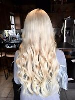 Full head of extensions $300