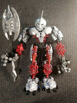 Lego Bionicle Warriors Axonn (8733) Free Shipping to USA