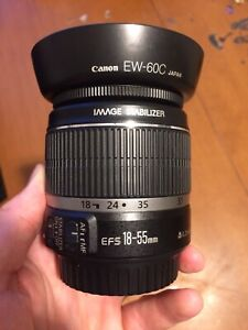 Canon EF-S Lens 18-55mm Image Stabilized