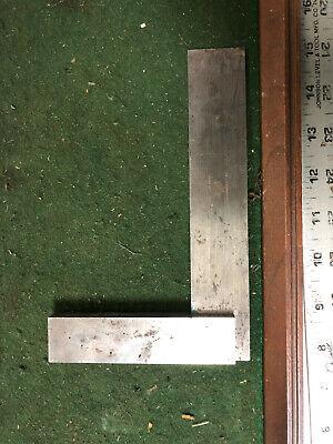 Machinist Tool Lathe Mill Machinist Starrett Steel Square Gage Gauge Draa Invst