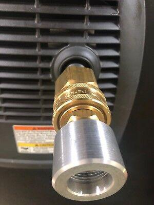 Genexhaust For Honda Eu1000i Generator 1-12 Qd Exhaust Extension No Hose