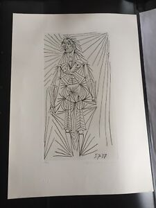 Pablo Picasso- Estate Signed Lithograph - Fine Art