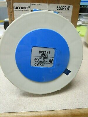 Bryant Electric Pin and Sleeve Receptacles 530R9W. New