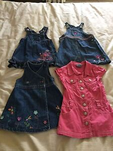 Baby girl toddler dresses size 1-2 Pumpkin Patch Dural Hornsby Area Preview