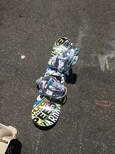 Young child's snow board