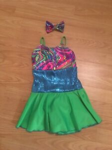 Jazz/tap dresses girls' size 5-8