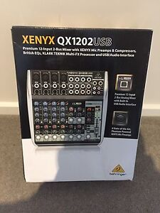 Behringer qx1202USB Pa mixer 12 channel NEW Mount Waverley Monash Area Preview