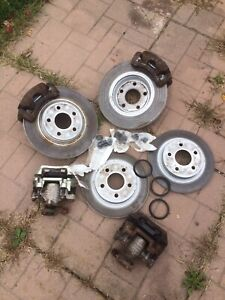 5 Bolt Rotors and pads and calipers for chev cobalt or pursuit