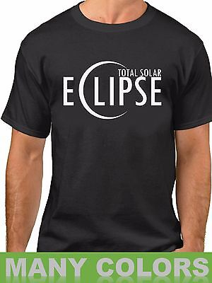 Total Solar Eclipse 2017 Mens T Shirt Usa Moon Astronomy T Shirt Tee