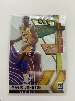 2019-20 DONRUSS OPTIC MAGIC JOHNSON LOS ANGELES LAKERS #20 NBA Express -