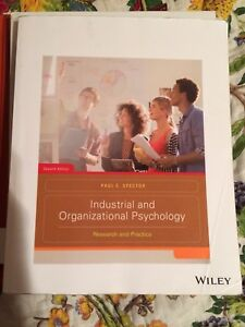 Industrial and Organizational Psychology Spector 7th edition