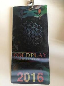 Coldplay Arena 2 - Close to the stage - Tonight Dandenong Greater Dandenong Preview