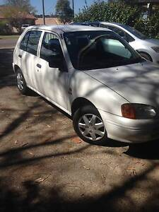 1997 Toyota Starlet Hatchback Belmont North Lake Macquarie Area Preview