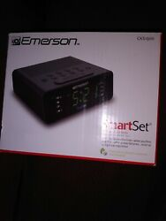 Emerson Smart Set CKS1900 dual alarm clock radio auto