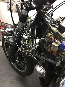 Honda Motorcycle wire help required