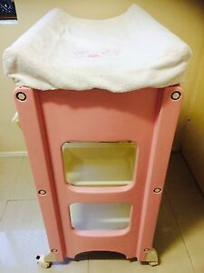 Pink baby changing table Carina Heights Brisbane South East Preview