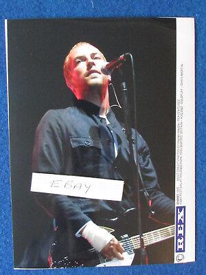 """Original Press Photo - 8""""x6"""" - Coldplay - Chris Martin - 2003 - E"""