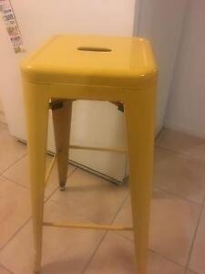2 yellow bar stools Underdale West Torrens Area Preview
