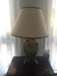 Two beautiful ceramic lamps & matching lamp shades Cranebrook Penrith Area Preview