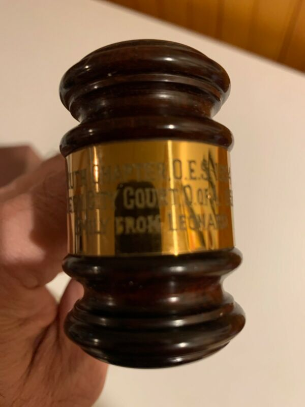 Wood Gavel Kettle Blake Boston Manchester Queen City O Of A 1954