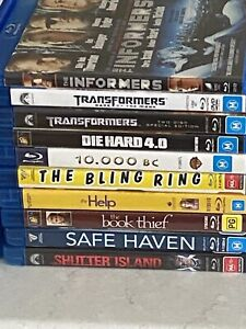 Blu Ray dvds for sale $5 each
