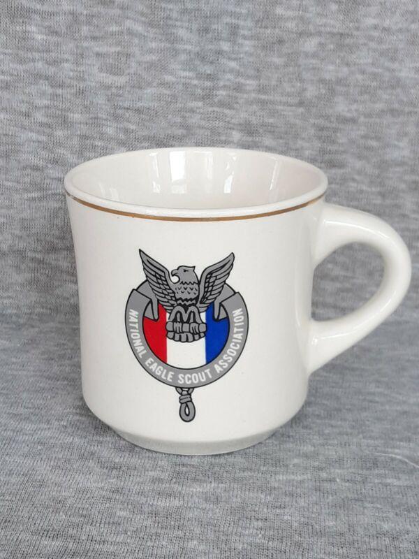 Vintage National Eagle Scout Association Coffee Mug Cup