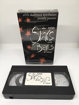 XYZ Clothing 'The 1998 Stars And Bars Tour' Skate Video VHS NTSC Knight Markovic