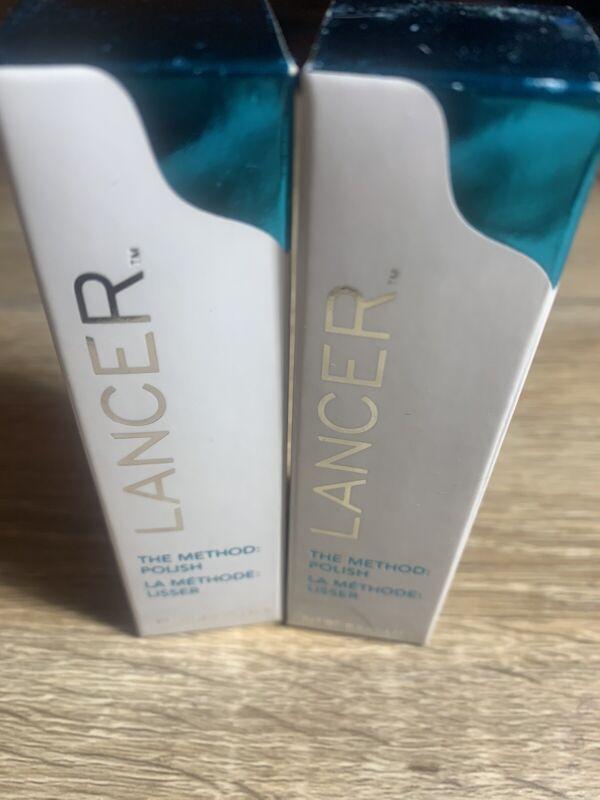 Lancer The Method Polish, Face Treatment Cleanser Exfoliator, 0.5oz, Lot Of 2