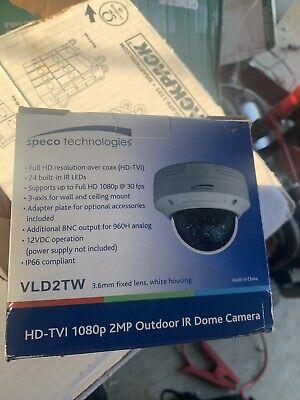 Speco Technologies Vld2tw Hd-tvi Cctv Camera Cameras Brand New