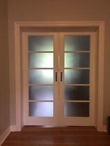 "Pair of French Doors 30""x80"""