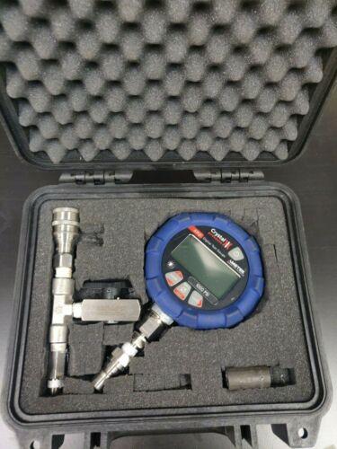 Ametek Crystal Engineering XP2i Digital Test Pressure Gauge 1000psi FULL KIT
