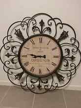Large 110cm Metal Wall Clock Collingwood Park Ipswich City Preview
