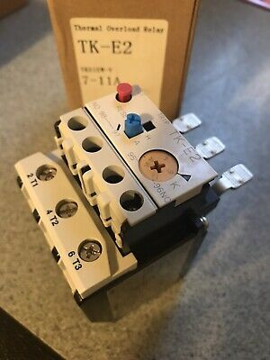 Fuji Tk-e2-1100 Thermal Overload Relay 7-11a New