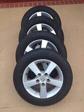 """15"""" Mazda 3 Mag Wheels and Great Tyres! (5x114.3) Carina Heights Brisbane South East Preview"""