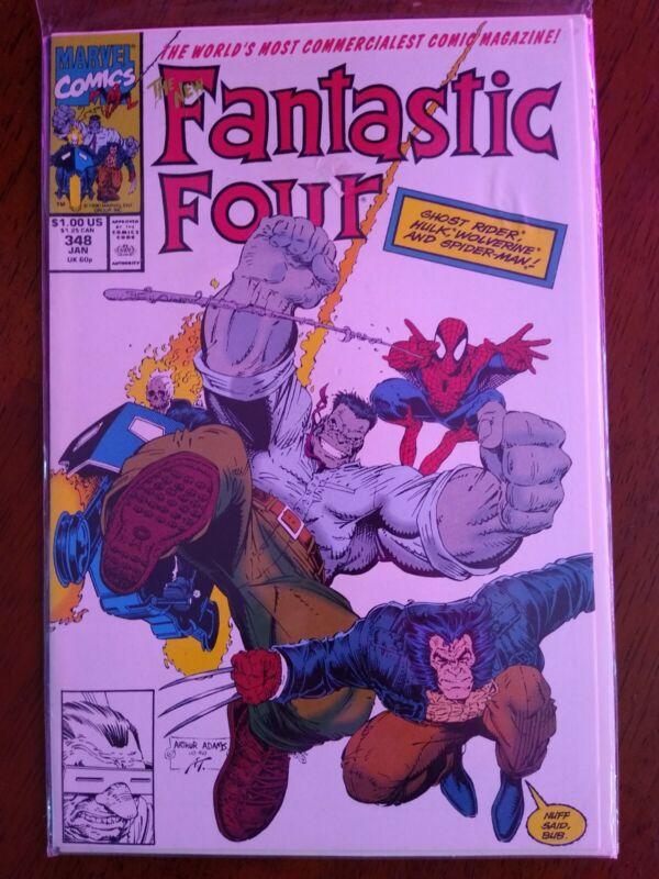 Fantastic Four Comic #348