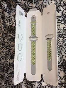 Apple Watch band - Nike grey and yellow Bronte Eastern Suburbs Preview