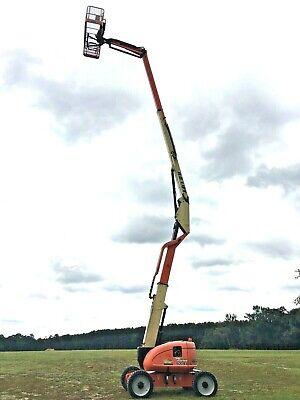2013 Jlg 600aj Articulating Boom Lift W Jib 60 Dual Fuel 2wd Man Lift Genie