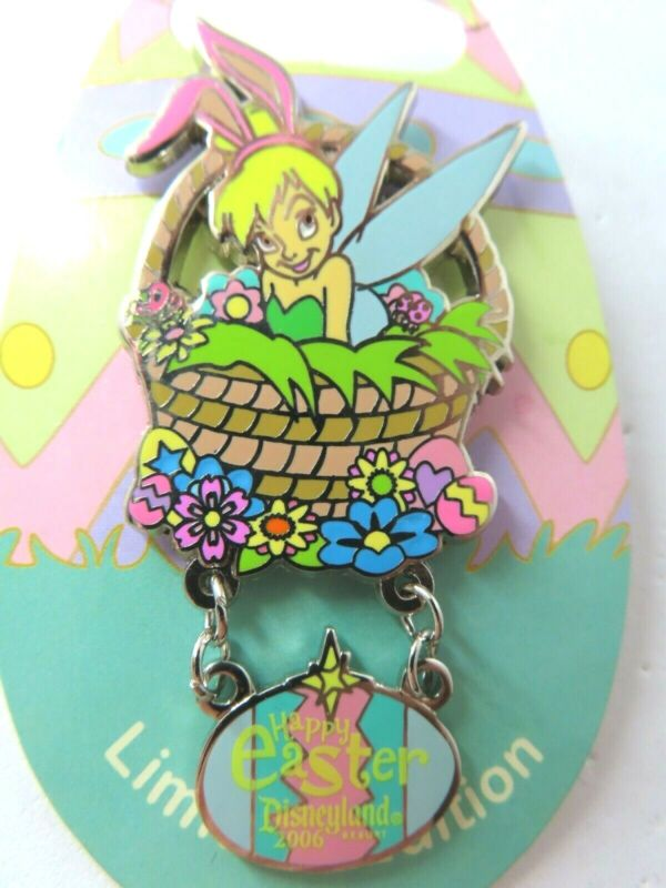 Disney Pin DLR - Happy Easter 2006 Collection - Tinker Bell LE 1500 #45693