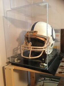 Baltimore Colts Game Used Helmet & Case