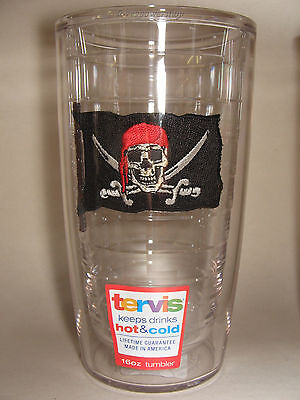 16 oz Pirate Flag With Swords Tervis ...