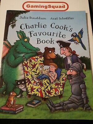 Charlie Cook Favourite Book, Julia Donaldson PB Supplied by Gaming Squad