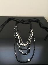 Long black and silver necklace West Pennant Hills The Hills District Preview